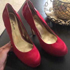 Bebe high heels size 8 worn only twice
